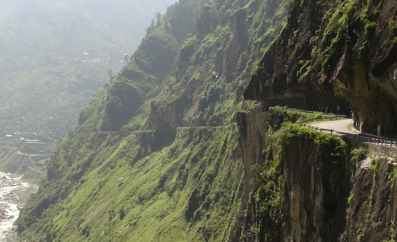 WATCH: Riding the World's Most Treacherous Road in India