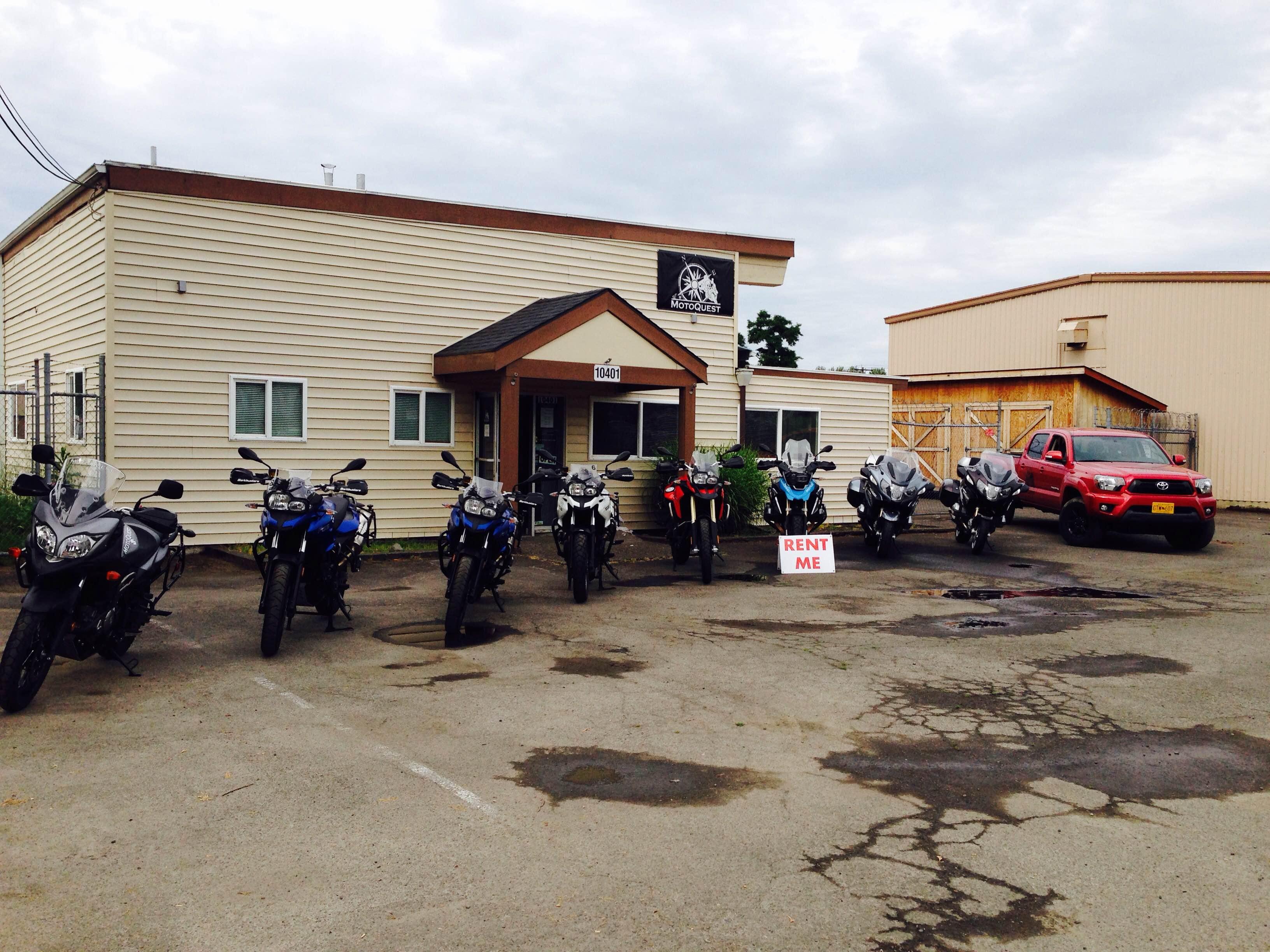 Portland Area Motorcycle Rentals