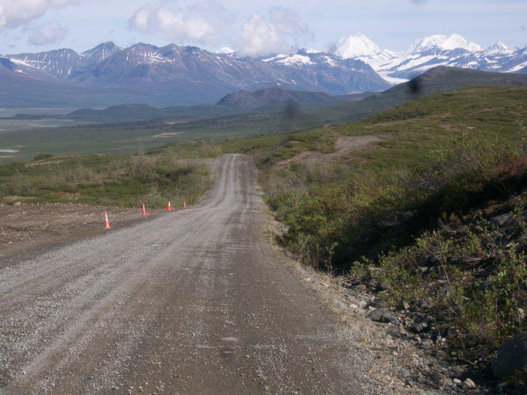 Alaska Day 9 Jun 10 Alaska Range and Denali Park