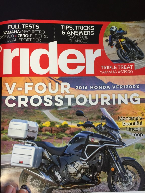 MotoQuest Japan Tour Featured in Rider Magazine