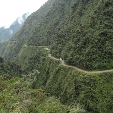 BOLIVIA ROAD OF DEATH ADVENTURE