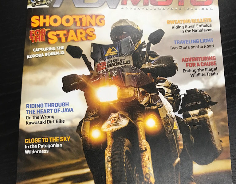 Check Out Christina Tkacs' Article in ADVMoto