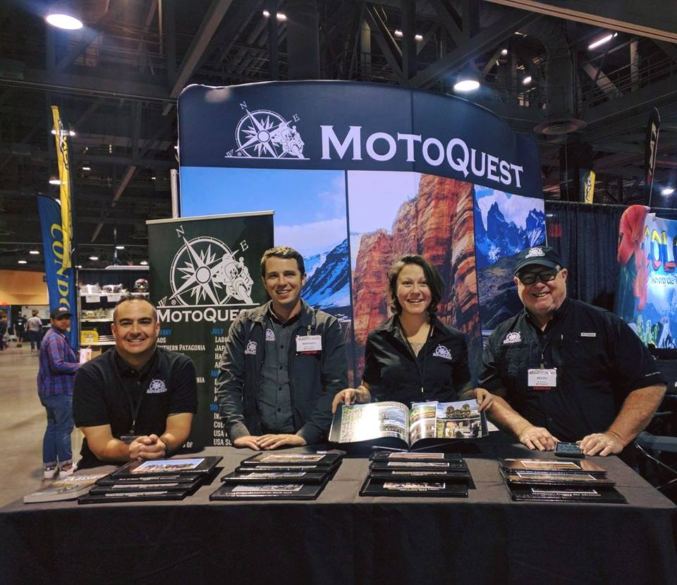 MotoQuest on the Road – Winter Show and Presentation Schedule