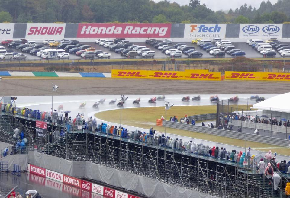 The MotoGP season is underway. Where will you be when the series comes to Japan?