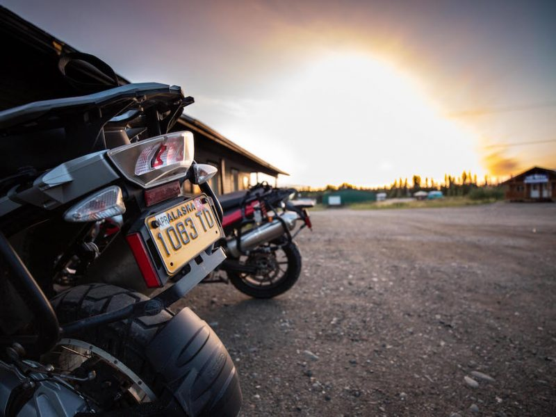 PHOTOS: Mike Stoner's North to Alaska Custom Adventure