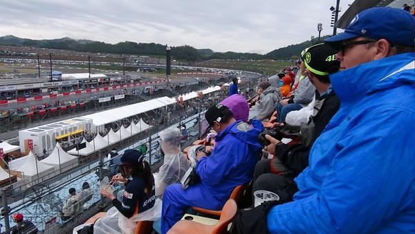 Japan MotoGP Stands
