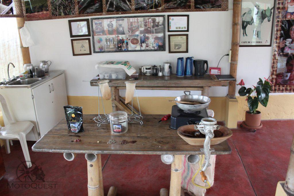 MotoQuest Colombia Coffee