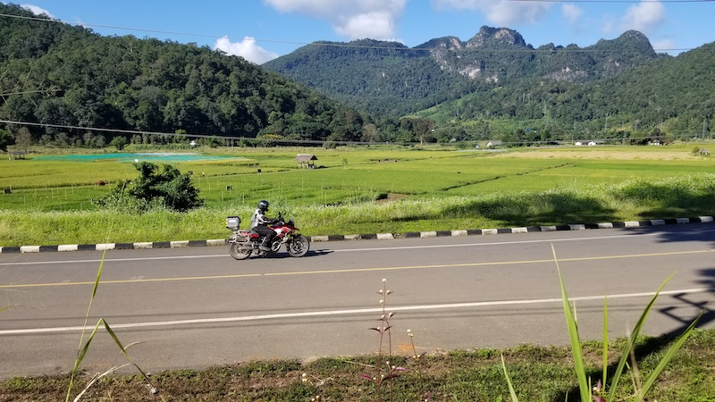 MotoQuest Thailand & Laos Riding2