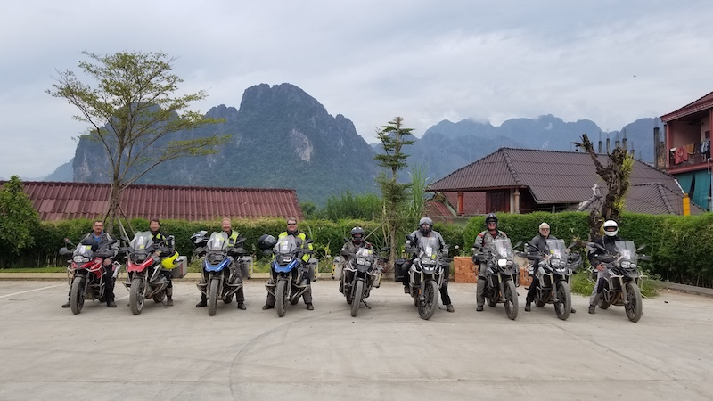 Motoquest Thailand & Laos Headed Out