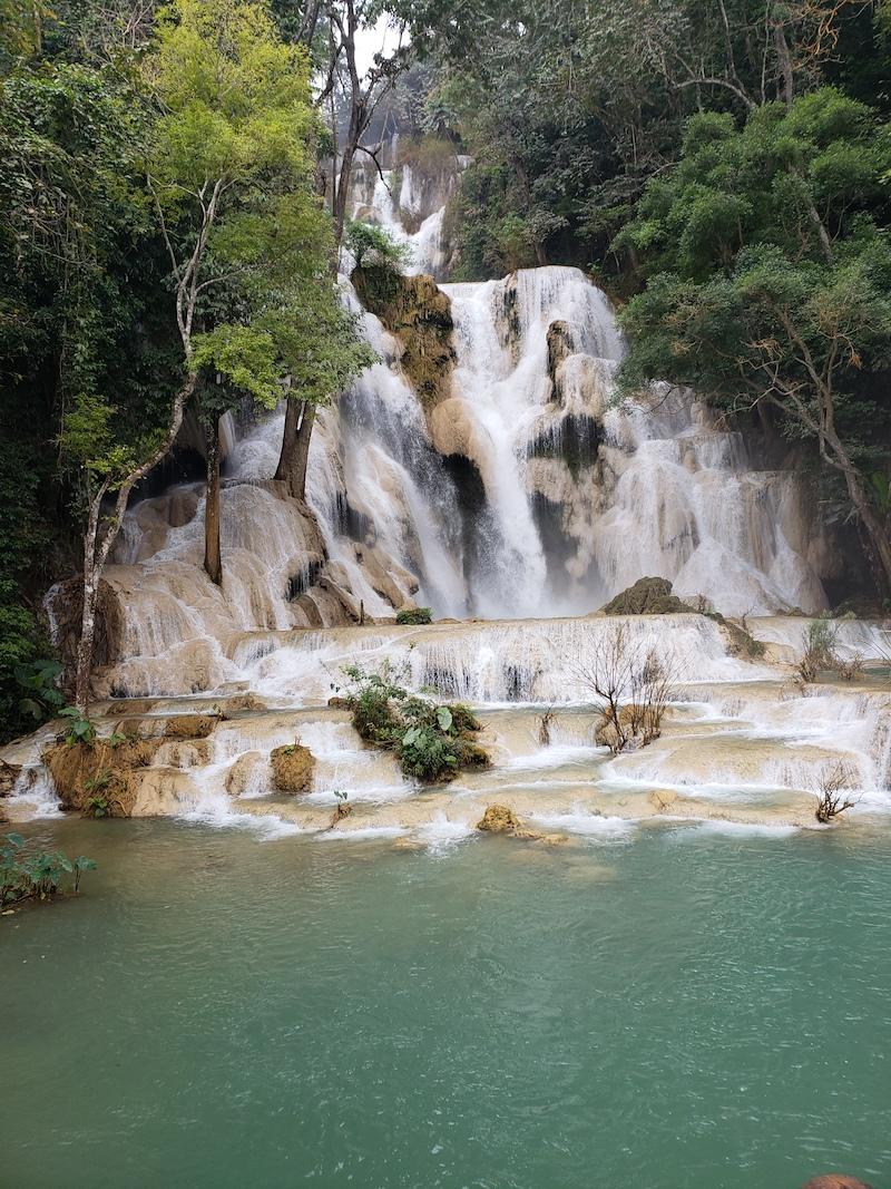 Motoquest Thailand & Laos Kuang Si Falls 1
