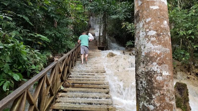 Motoquest Thailand & Laos Kuang Si Falls 2