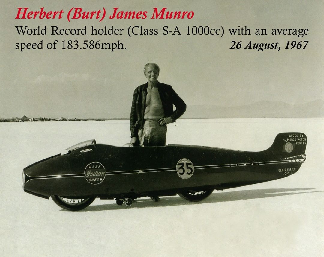 Burt World Munro Record