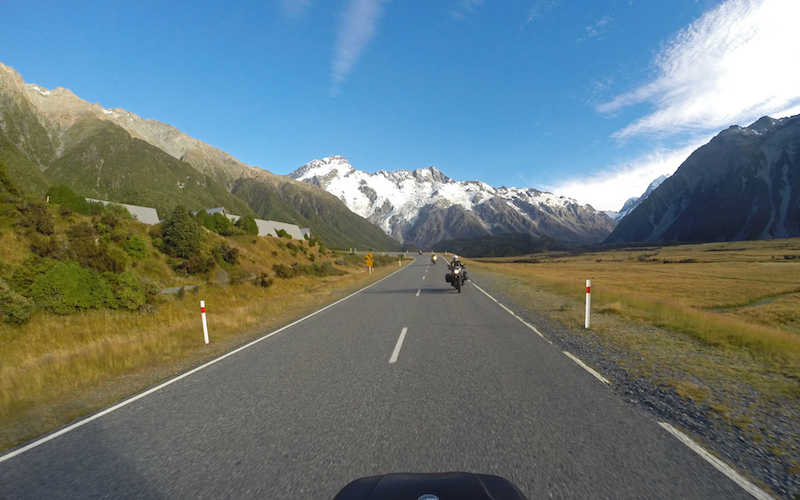 MotoQuest New Zealand Mountain Scenery