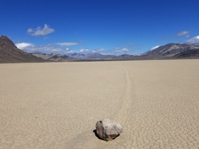 Death Valley's Enigmatic Racetrack